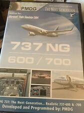 PMDG 737 NG 600/700 ~ FLIGHT SIMULATOR 2004 FS2004 ADD-ON COMPLETE