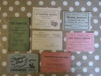 Vintage/antique Irish documents paperwork - Londonderry - Bookies ,payment books