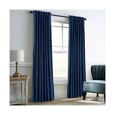 Dreaming Casa Royal Blue Velvet Room Darkening Curtains for Living Room Therm...