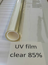 "Security UV Film 85% 2 mil Clear Auto. Shatter Resistant Window Film 60"" x 48"""