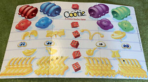 1999 Cootie Game - Replacement Part - Game Board