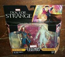 """Marvel Legends Series: DOCTOR STRANGE & ASTRAL DOCTOR STRANGE 4"""" Action Figures!"""