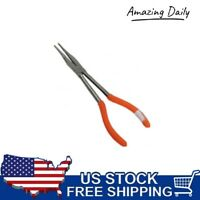 """11"""" Long Nose Straight Needle Pliers Extra long Reach Needle Nose Top Quality"""