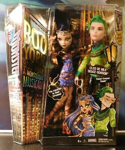 Mattel Monster High BooYork Muscial Cleo De Nile Gorgon Boo NIB