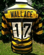 e43f0d4f Nike Mike Wallace Bumble Bee Pittsburgh Steelers Throwback Jersey NFL - Mens  S