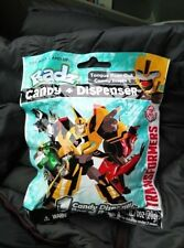 RADZ TRANSFORMERS CANDY & DISPENSER 5 NEW SEALED PACKS