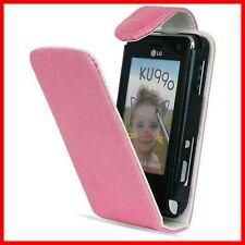 Pour mobile LG KU990 = Etui coque de protection ROSE panthere rose