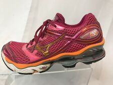 Mizuno 8KN-20156 Wave Creation 13 Pink Running Athletic Sneakers Women's US 10.5