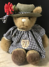 Teddy Two-Shoes 1985 GUND Bear With Hat