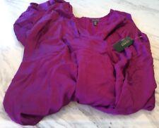 Ralph Lauren Holiday Purple Silky One Piece Jumpsuit NWT Plus Size 18 Ladies