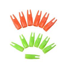 50pcs 5/16 Plastic Arrow Nocks Tails For Od7mm Wooden Shaft Achery Parts Hunting