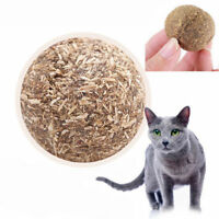 Nature Health Cat Mint Ball Toys Coated Catnip Pet Kitten Grasping Play Toy NEW