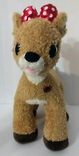 "Rudolph the Red Nosed Reindeer Clarice Doe 15"" Plush Figure Build A Bear"