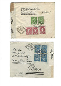 ARGENTINA-COVERS--OLDER--AIRS-CENSORSEXTERNAL USE--USED-FINE-NICE FRANKING-#ARG3