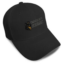 Dad Hats for Men Owned by A Hovawart Embroidery Dogs Women Baseball Caps Acrylic