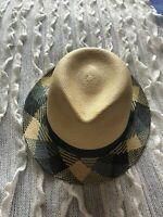 Panama Hand Woven Hat Helen Kaminski Size Medium