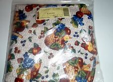 Longaberger Library Fruit And Baskets Basket Liner NEW