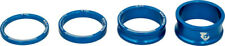 Wolf Tooth Components Headset Spacer Kit 3, 5, 10, 15mm, Blue