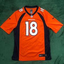 New listing Nike Peyton Manning #18 Denver Broncos On Field Jersey Size Adult Large L