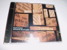 Steve Pittis - Dedicated to William Burroughs - CD nicht OVP