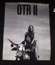Beyonce Jay-Z Otr Ii On The Run Med Black 2018 Tour T-Shirt