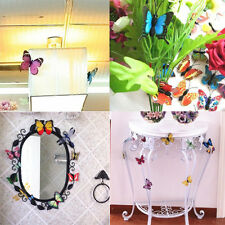 25PCS 3D Colorful Artificial Butterfly Wedding Party Room Wall Decor Magnet