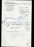 """ARGENTON-sur-CREUSE (36) EPICERIE en gros """"GOBERT"""" AU PLANTEUR DE CAIFFA en 1950"""