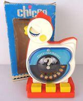chicco gallinella conterella , giocattolo anni 80, semi nuovo con scatola