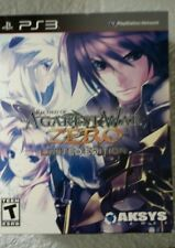EMPTY Jacket Cover for PS3 AGAREST WAR ZERO Limited Edition.