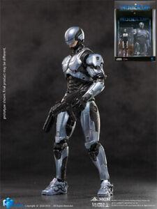 Hiya Toys RoboCop 2014 Silver RoboCop 1:18 Scale Action Figure New In Stock