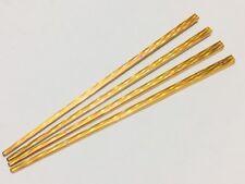 4 * Chino Dorado/japonés palos de Cabello para Mujeres Chop Pelo Cabello Pin Clip Herramienta Nuevo