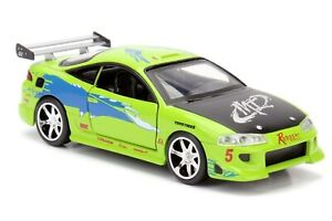Fast and Furious - '95 Mitsubishi Eclipse 1:32 Scale Hollywood Ride