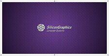 SGI - Silicon Graphics VINTAGE COMPUTER BANNER