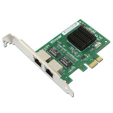 Winyao Broadcom 5715 Dual Port Gigabit PCIe NIC Ethernet Network Card Adapter