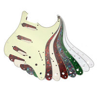 3ply Scratchplate Pickguard Direct Fit For USA/MEX Fender Stratocaster Strat SSS