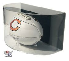 Curved Acrylic Wall Mount Full Size Football Display Case GameDay Display