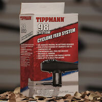 NEW Tippmann Paintball 98 Custom & Alpha Black Cyclone Feed System (T205030)
