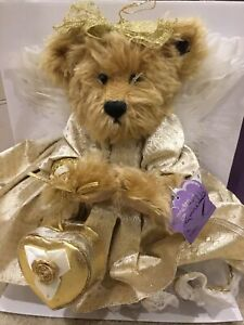 Annette Funiccello Bear Goldie 50th Golden Angel Bear