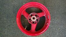 Kawasaki zx12r A1 rear wheel red for 200 section tyre