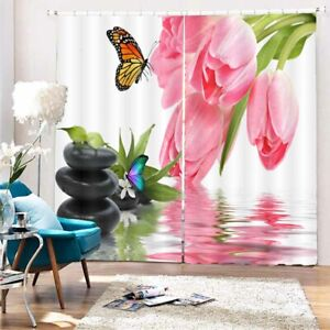 Ice Cream Speed Line 3D Curtain Blockout Photo Printing Curtains Drape Fabric