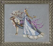 Mirabilia Cross Stitch Chart. The Snow Queen MD143. with Cheap Shipping.