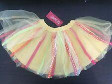 NWT New Gymboree Sunny Citrus  Orange Yellow  Size 2 2t tutu Skirt Birthday