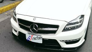 CARBON FRONT LIP SPOILER V STYLE FOR MERCEDES BENZ W218 CLS63 ONLY