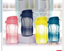 Tupperware Aqua Safe 310 Ml Slim Flip Top Bottles Set of 4 In Colors-Free Ship