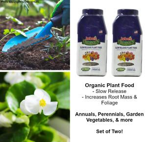 Jobes Organic Slow Release Plant Food Fertilizer for Garden, Flowers, Vegetables