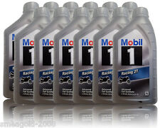 MOBIL 1 RACING 2t 2-Takt Olio Moto due tempi olio motore 12 x 1 LITRI