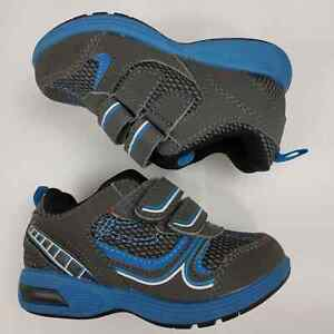 Carter's Blue Athletic Light Up Shoes Baby Boys Sneaker Toddler Infant Size 6