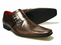 Red Tape Cherwell Men's Brown Leather Shoes UK size 7 - 11 RRP £45 Free P&P!