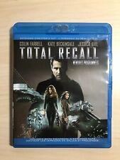 Total Recall (Blu-ray Disc, 2-Disc Set, Digital Copy, 2012)