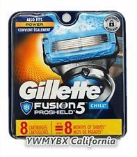 Gillette Fusion 5 PROSHIELD CHILL Refills 8 Cartridges